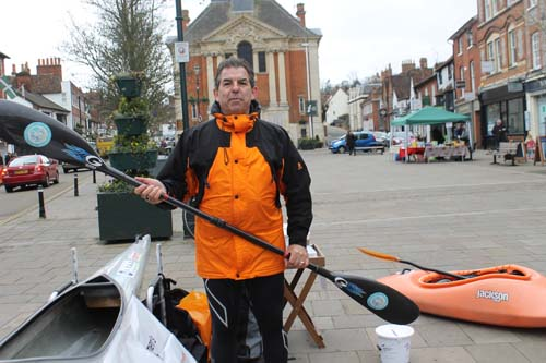 Chris Takes On Longest Canoe Race